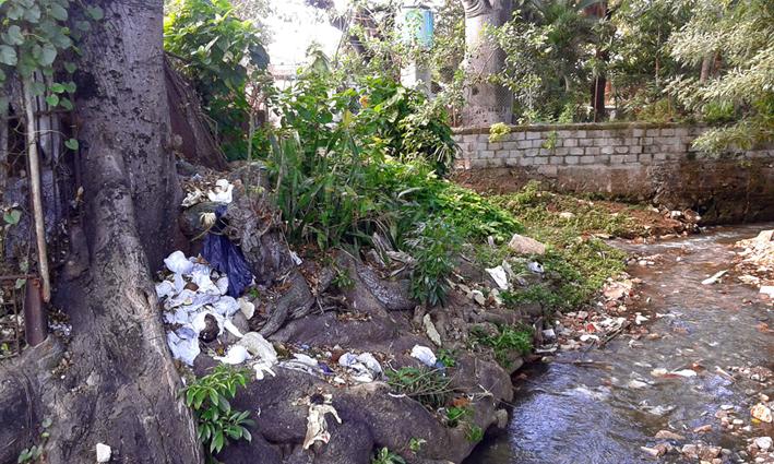 Jimmy Roque Martínez: Río contaminado en Marianao