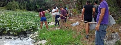 Habitantes de las zonas aledañas al río Ariguanabo tienen un peso fundamental en el trabajo ecológico y en impedir que la contaminación avance.
