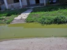Portal de vivienda inaccesible aún sin llover en mayo