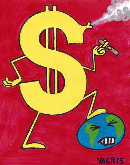 El egoísmo humano rige el funcionamiento de la civilización y deteriora nuestro planeta