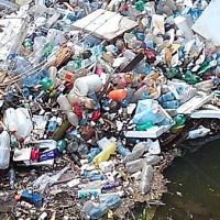 Río Quibú: pequeña selva de plástico y pobreza