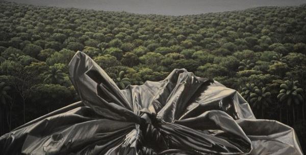 Antagonismo, acrílico sobre tela 2015, 150 x 110 cm